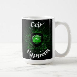 Crit Happens mug