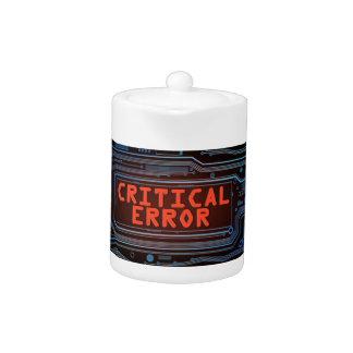 Critical error concept.