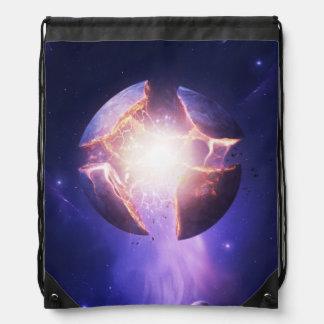 Critical Mass Drawstring Bag