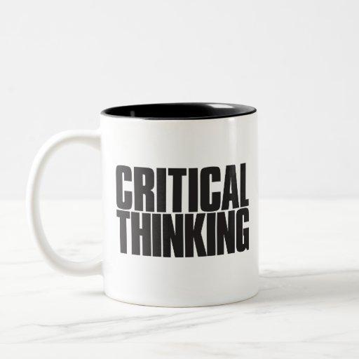 'Critical Thinking' Mug