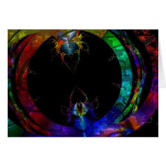Critter Love Rainbow Art Card