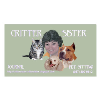 Critter Sister Business Card