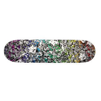 Critters skateboard rainbow