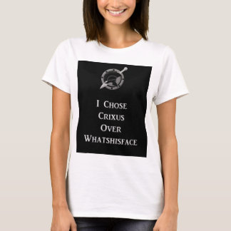 Crixus Over Whatshisface T-Shirt