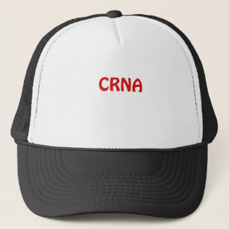 CRNA TRUCKER HAT