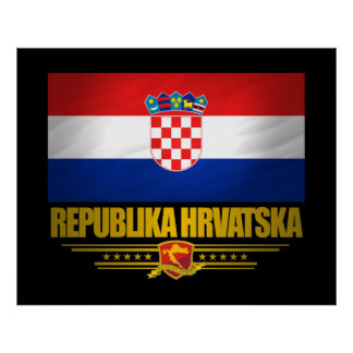 """Croat Pride"" Posters & Prints"