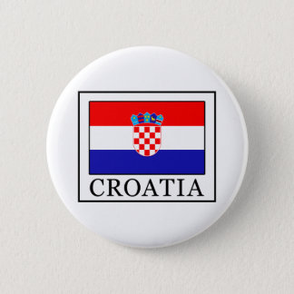 Croatia 2 Inch Round Button