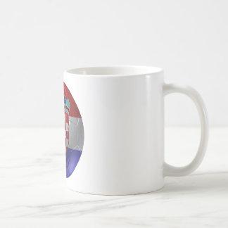 Croatia ball coffee mug