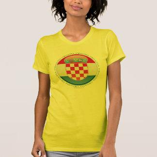 Croatia Bubble Flag T-Shirt
