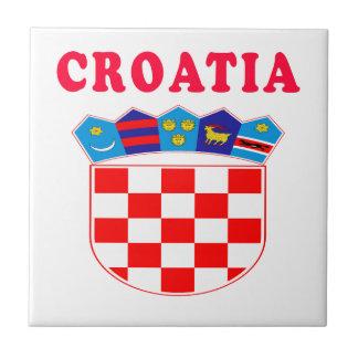 Croatia Coat Of Arms Designs Ceramic Tile