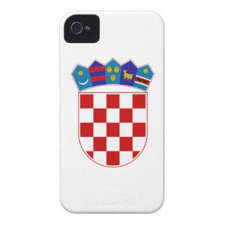 Croatia Coat of Arms iPhone 4 Case-Mate Case