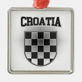 Croatia Coat of Arms Metal Ornament