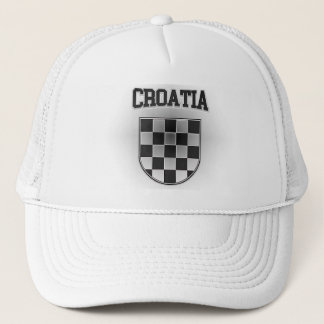 Croatia Coat of Arms Trucker Hat