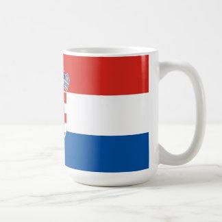 croatia coffee mug