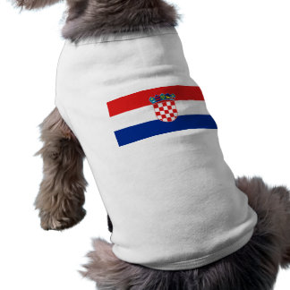 Croatia, Croatia Dog Shirt