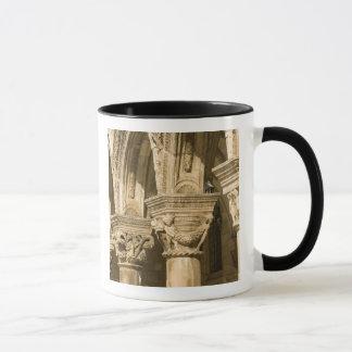 Croatia, Dalmatia, Dubrovnik. Stone arches and Mug