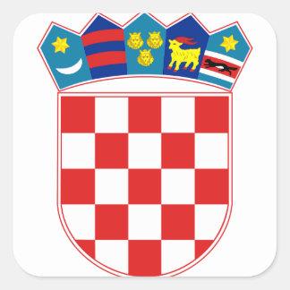 croatia emblem stickers