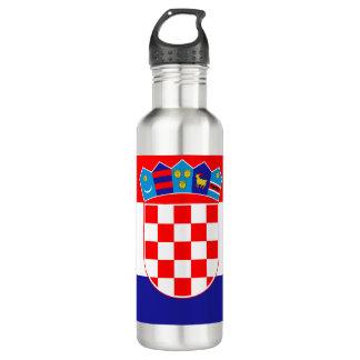 Croatia Flag 710 Ml Water Bottle