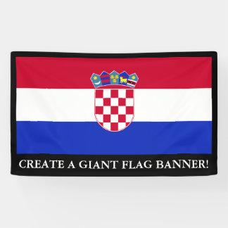 Croatia Flag Banner