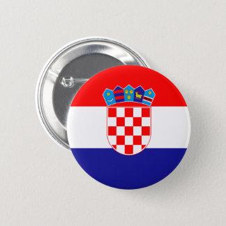 Croatia Flag Button