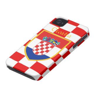 Croatia Flag Case-Mate iPhone 4 Cases