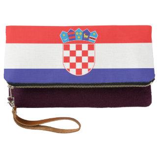Croatia Flag Clutch