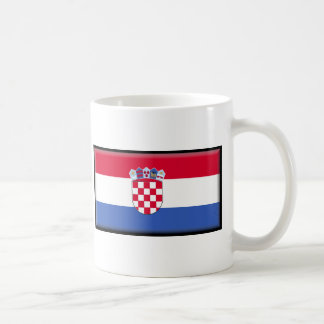 Croatia Flag Coffee Mug