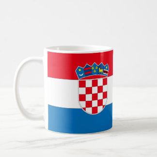 Croatia Flag Coffee Mug