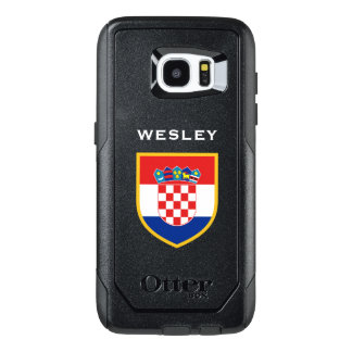Croatia Flag Customized OtterBox Samsung Galaxy S7 Edge Case