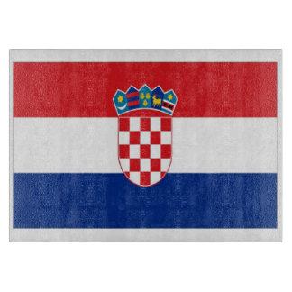 Croatia Flag Cutting Board