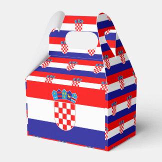 Croatia Flag Favor Box