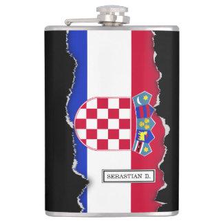 Croatia Flag Flasks