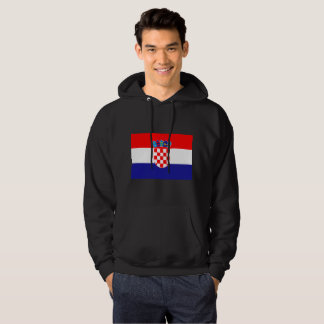 Croatia Flag Hoodie
