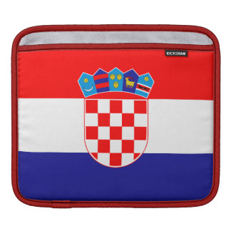 Croatia Flag iPad Sleeves