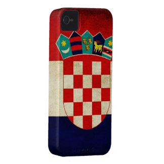 Croatia Flag iPhone 4 Case