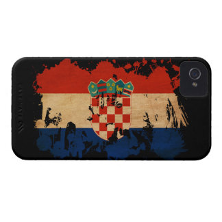 Croatia Flag iPhone 4 Case-Mate Case