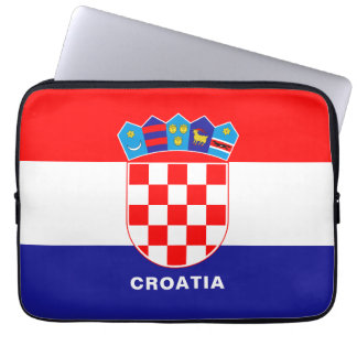 Croatia Flag Laptop Sleeve