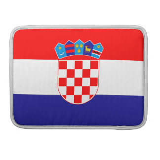 Croatia Flag MacBook Sleeve Pro