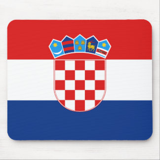 Croatia Flag Mousepad