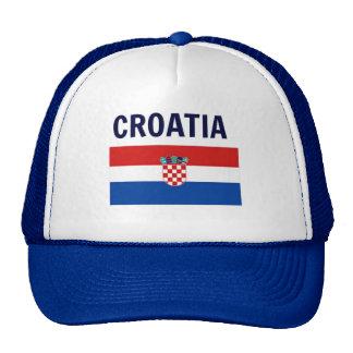 Croatia - Flag of Croatia Trucker Hat