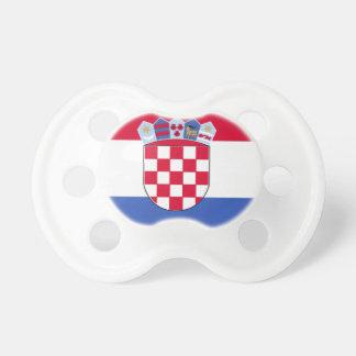 Croatia Flag Pacifiers