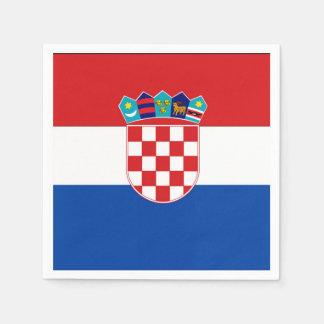 Croatia Flag Paper Napkin