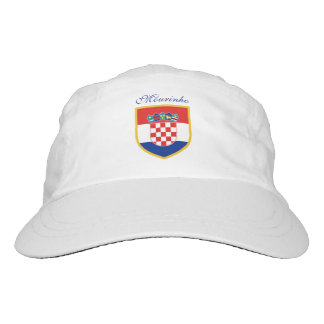 Croatia Flag Personalized Hat