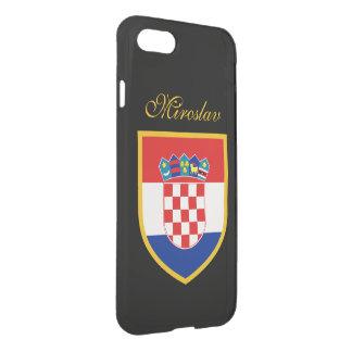 Croatia Flag Personalized iPhone 8/7 Case