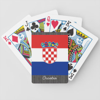 Croatia Flag Playing Cards
