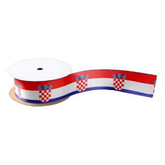 Croatia Flag Satin Ribbon