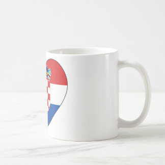 Croatia Flag Simple Coffee Mug