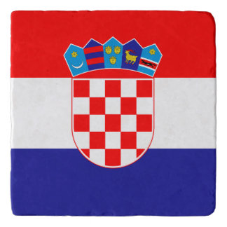 Croatia Flag Trivet