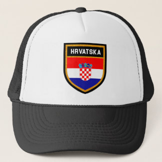 Croatia Flag Trucker Hat
