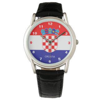 Croatia Flag Watch